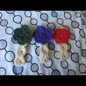 Other - Crochet baby headband bundle!!